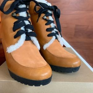Cole Haan waterproof bootie boots